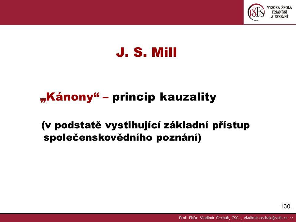 130.Prof. PhDr. Vladimír Čechák, CSC., vladimir.cechak@vsfs.cz :: J.