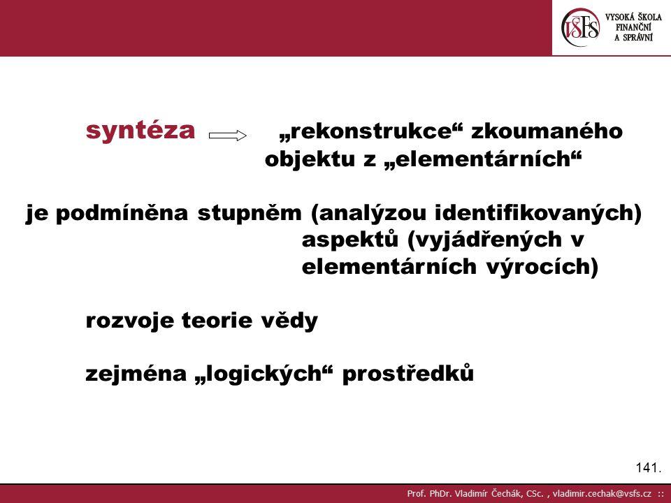 141.Prof. PhDr.