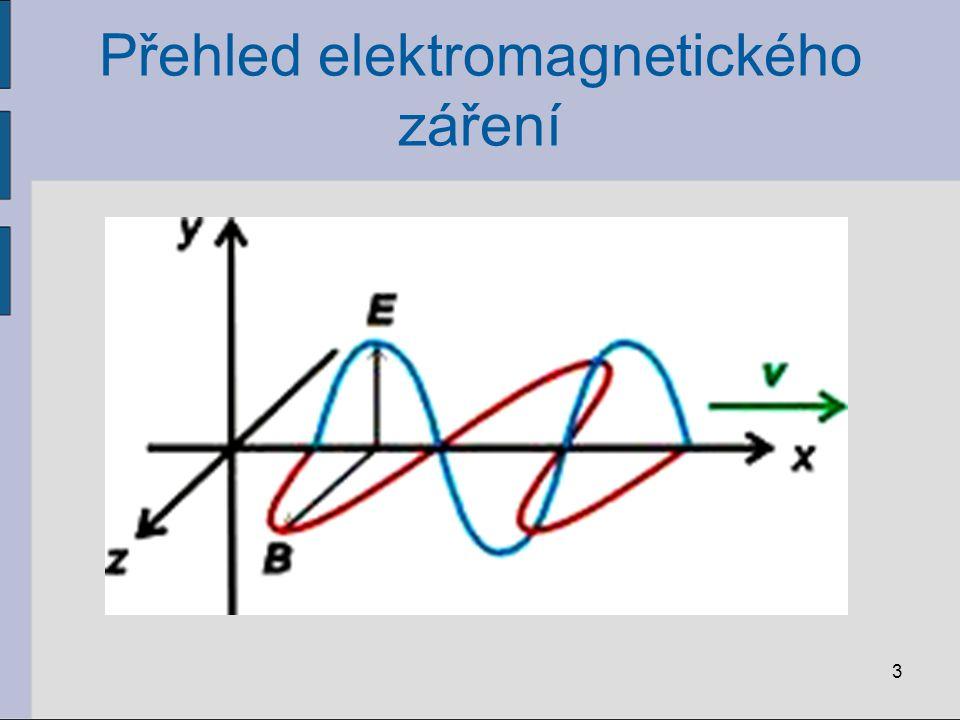 Přehled elektromagnetického záření 3