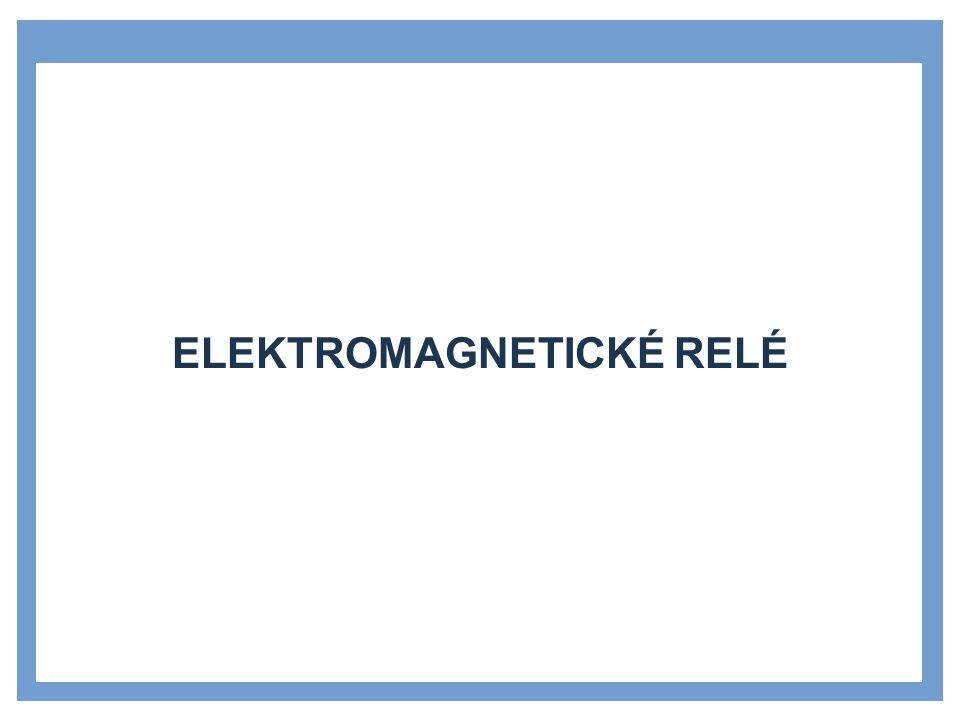 1.ČERNÝ, Josef.Elektromechanická relé. Praha: SNTL, 1968 2.NOVOTNÝ.