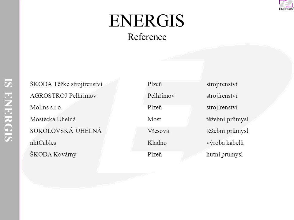 IS ENERGIS INSTAR ITS Ostrava, a.s.