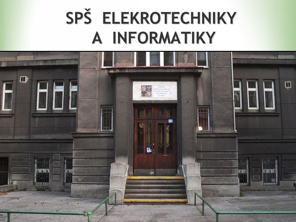 OBORY ElektrotechnikaElektrotechnika Elektronické počítačové systémyElektronické počítačové systémy Slaboproudá elektronikaSlaboproudá elektronika Technické lyceumTechnické lyceum