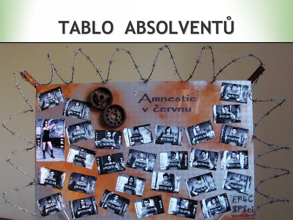 TABLO ABSOLVENTŮ