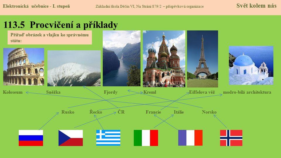 113.5 Procvičení a příklady Elektronická učebnice - I.
