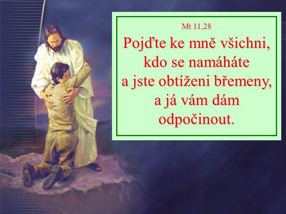 Mt 6,9-13 Vy se modlete takto: Otče náš, jenž jsi na nebesích, buď posvěceno tvé jméno.