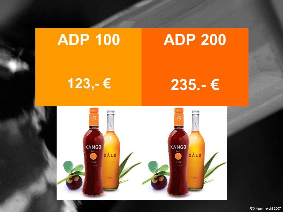 ADP 100 123,- € ADP 200 235.- € © X-team-reichl-2007