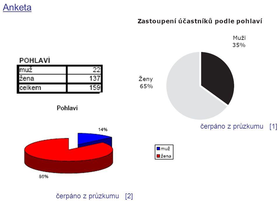 Anketa čerpáno z průzkumu [2] čerpáno z průzkumu [1]