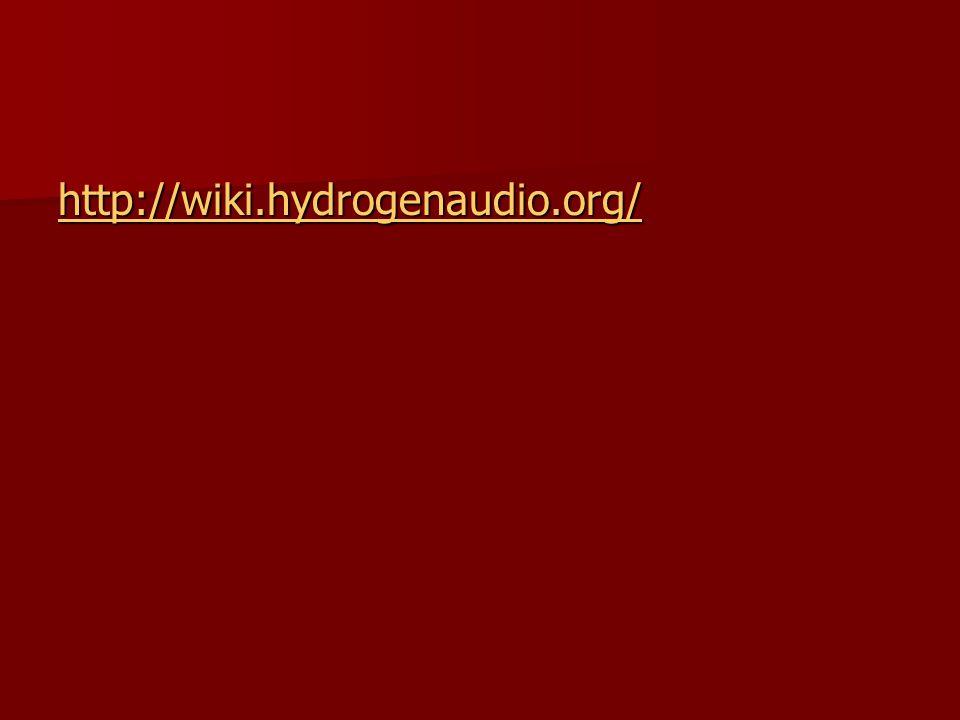 http://wiki.hydrogenaudio.org/
