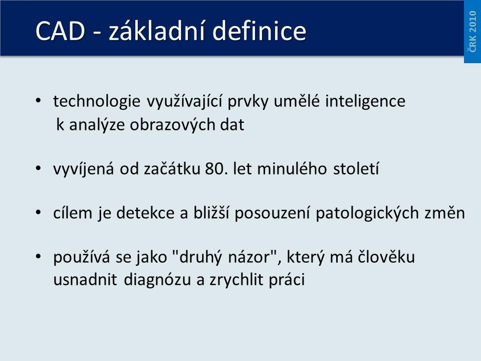 technologie využívající prvky umělé inteligence k analýze obrazových dat vyvíjená od začátku 80.