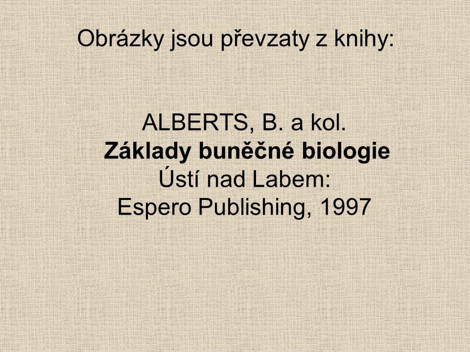 Obrázky jsou převzaty z knihy: ALBERTS, B.a kol.