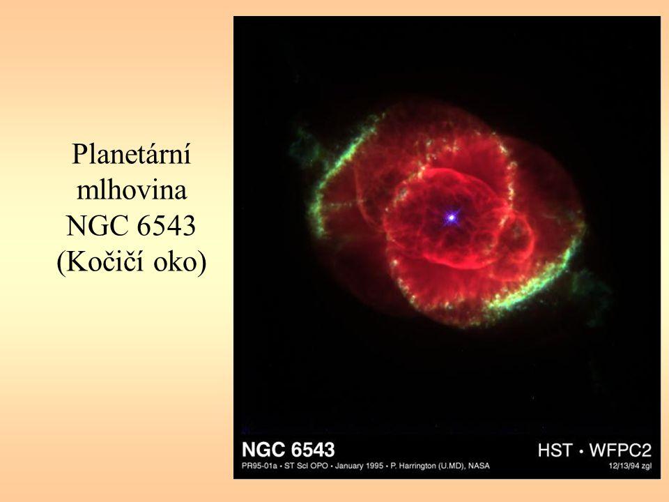 Planetární mlhovina NGC 6543 (Kočičí oko)