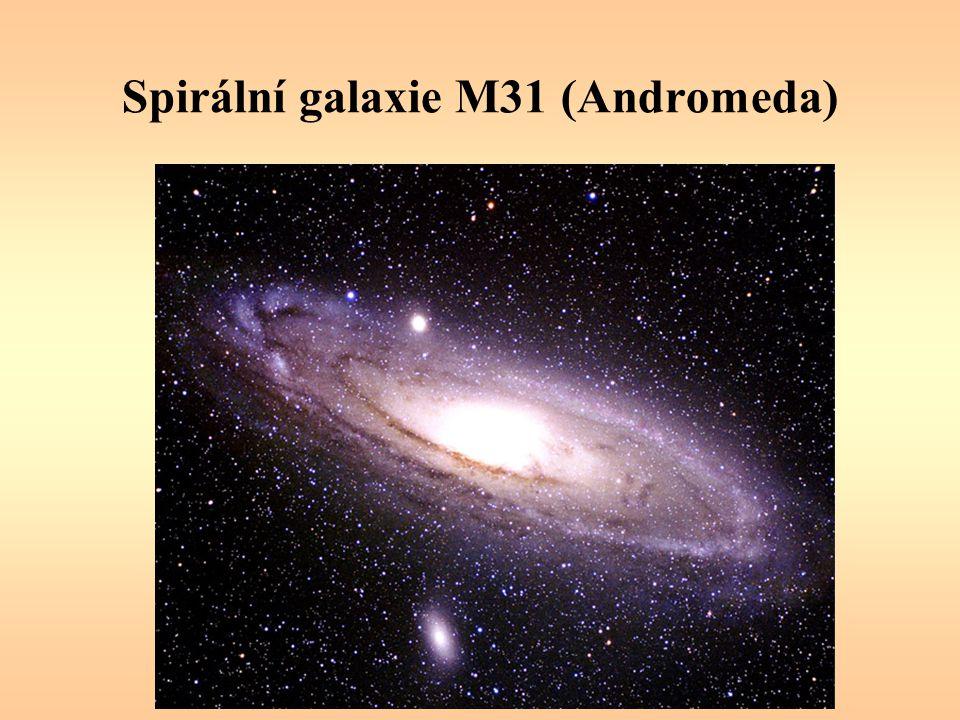 Spirální galaxie M31 (Andromeda)