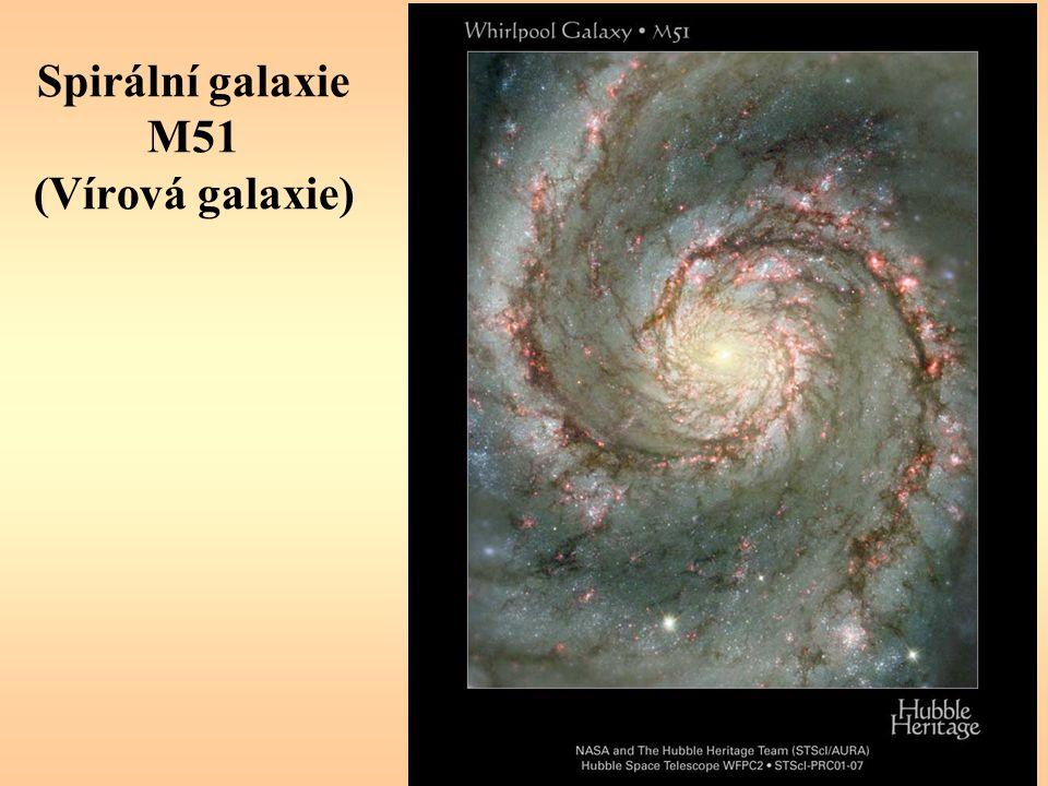 Spirální galaxie M51 (Vírová galaxie)