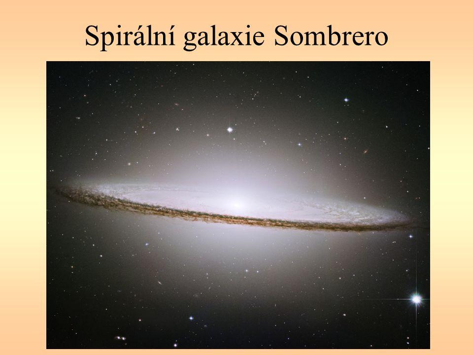 Spirální galaxie Sombrero
