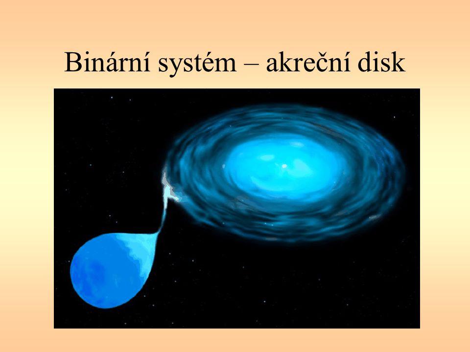 Binární systém – akreční disk