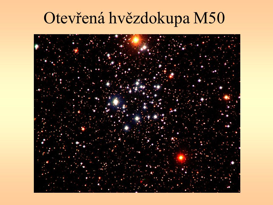 Otevřená hvězdokupa M50