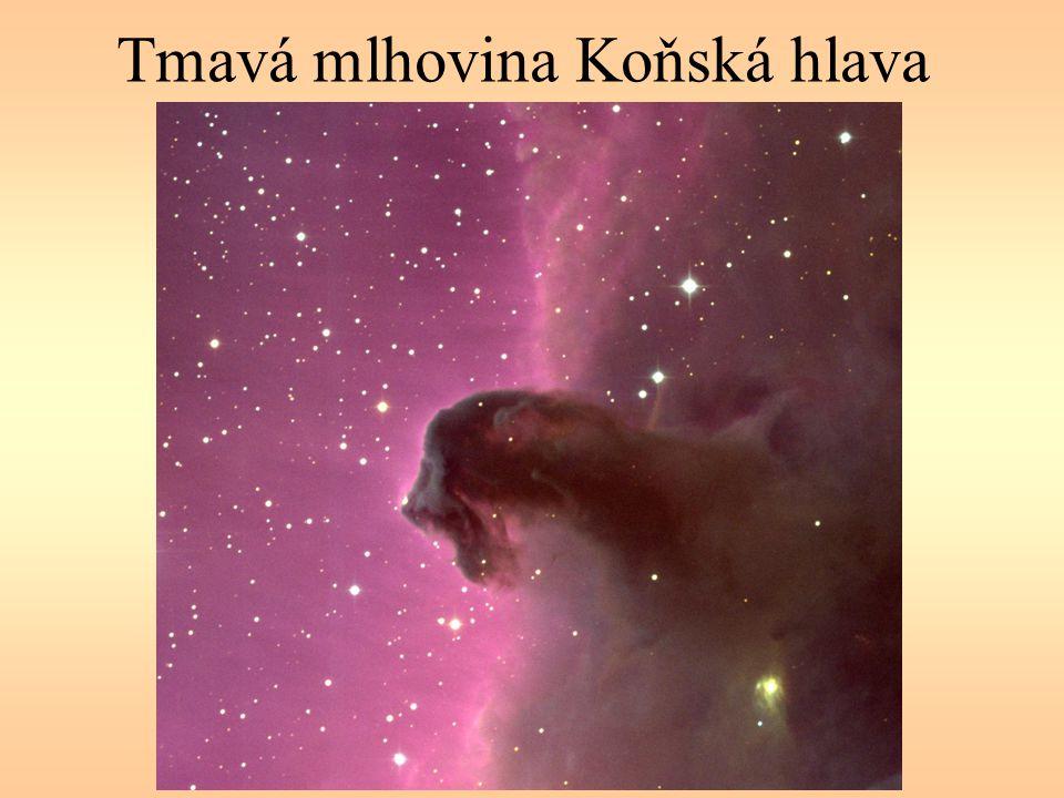 Tmavá mlhovina Koňská hlava