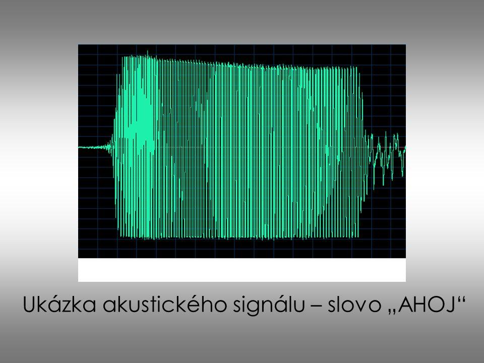 "Ukázka akustického signálu – slovo ""AHOJ"""
