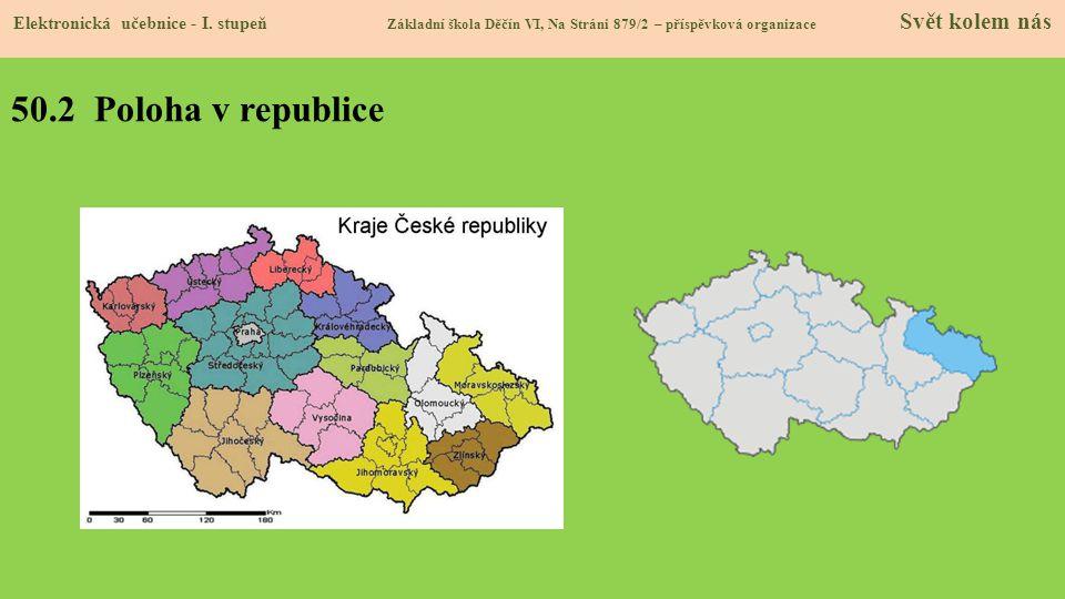 50.2 Poloha v republice Elektronická učebnice - I.