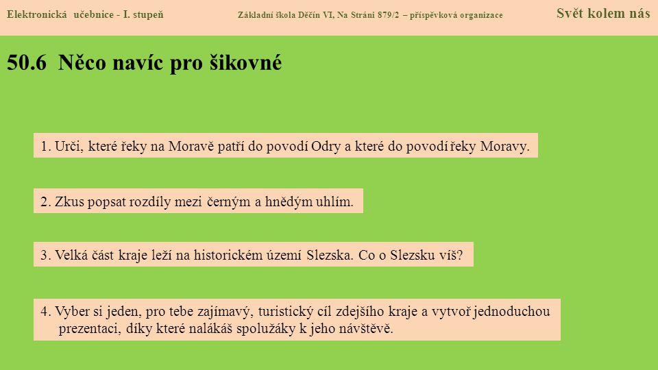 50.6 Něco navíc pro šikovné Elektronická učebnice - I.