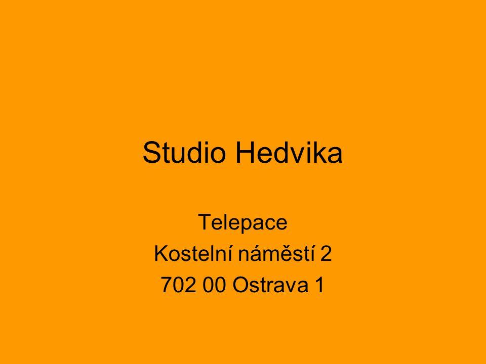 Studio Hedvika Telepace Kostelní náměstí 2 702 00 Ostrava 1