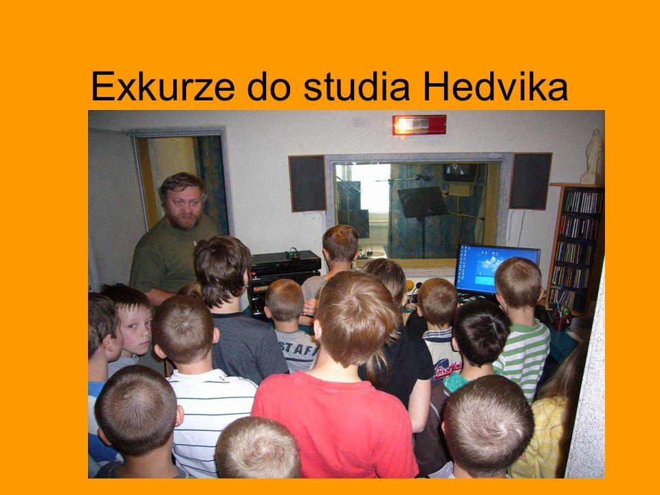 Exkurze do studia Hedvika