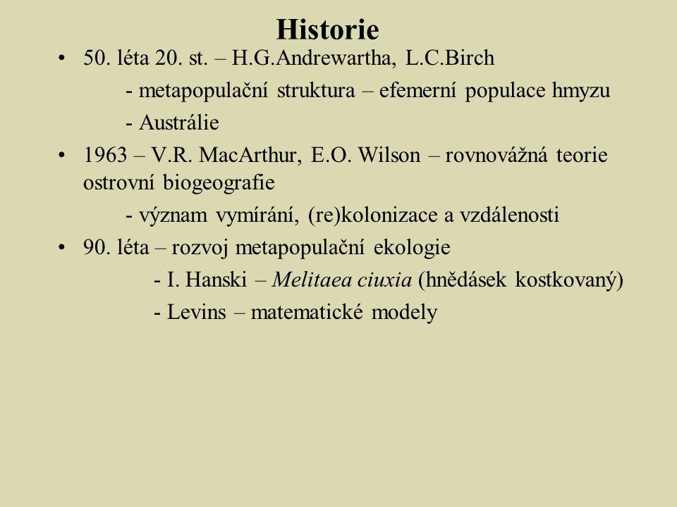 Historie 50.léta 20. st.