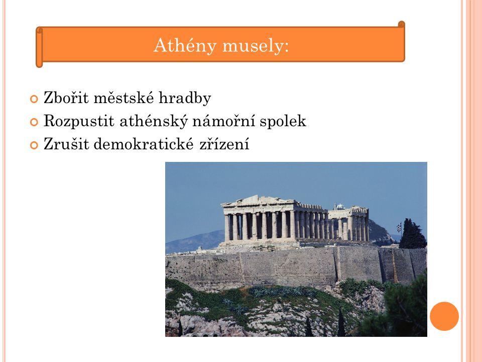 Peloponéská válka vedla k hospodářskému a politickému úpadku Řecka.