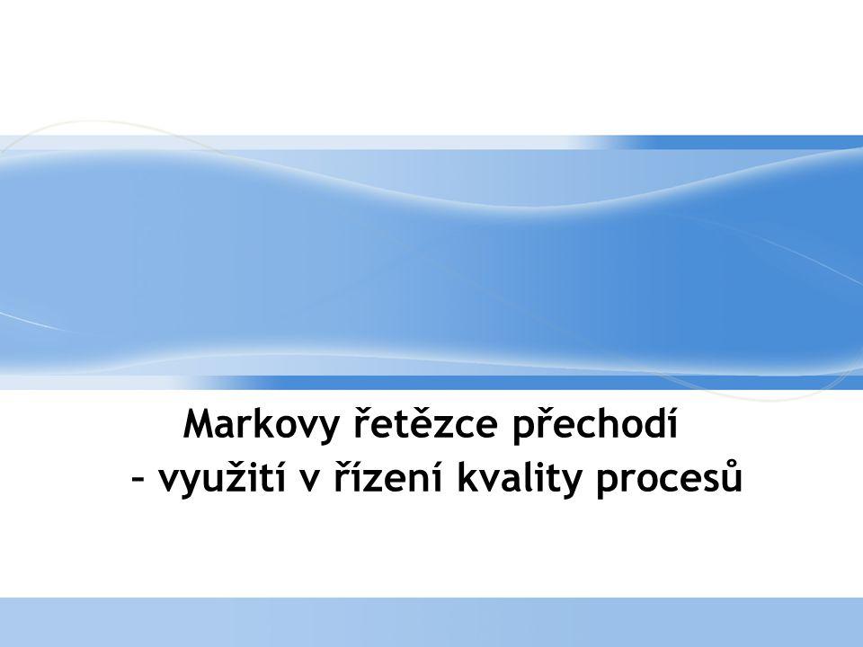 Page  2 Úvod-využití metodiky  Využití Markových řetězců je např.