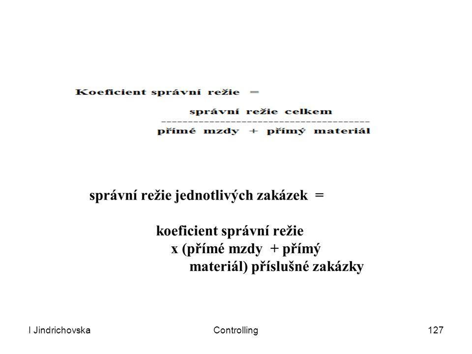 I JindrichovskaControlling127
