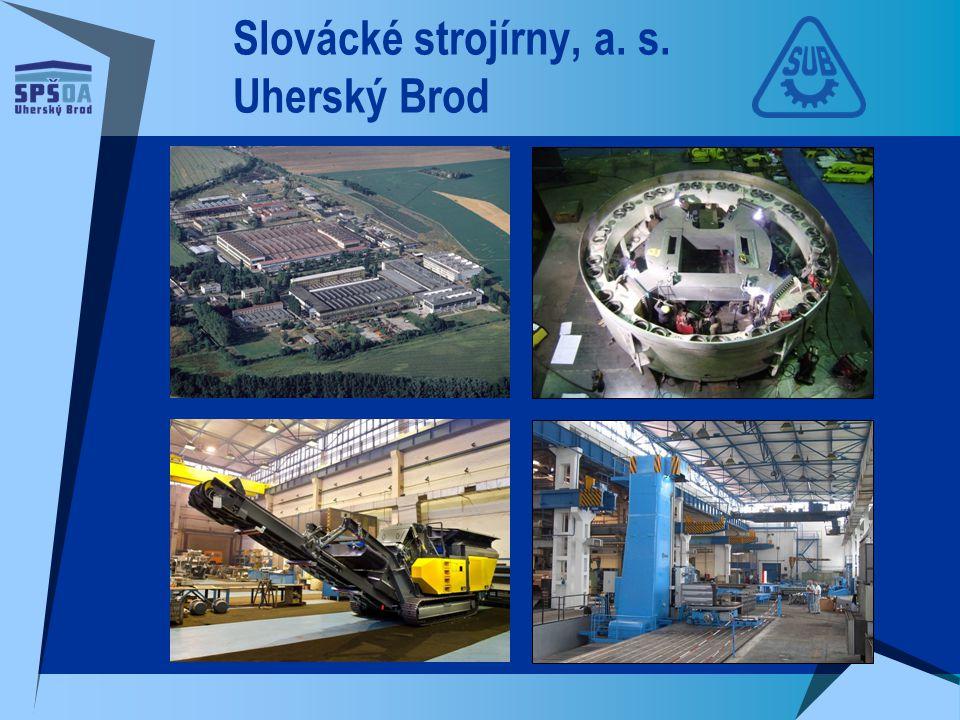 Slovácké strojírny, a. s. Uherský Brod