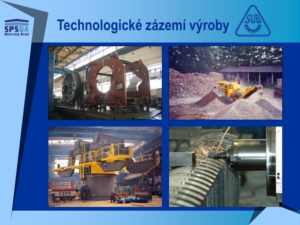 Technologické zázemí výroby
