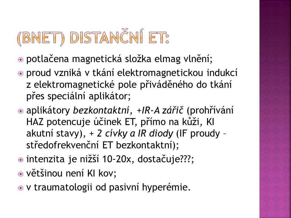  analgetický (apercepční nocicepce, změna interakce opiátových receptorů s endorfiny);  vazodilatační (změna transportu Ca2+ - eflux – uvolnění prekapilárních svěračů);  protizánětlivý (zvýšená fagocytóza a enzymatické pochody);  myorelaxační (zlepšení prokrvení);  zlepšené hojení MT (enzymaticky, aktivace osteoklastů).