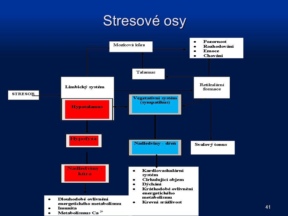Stresové osy 41