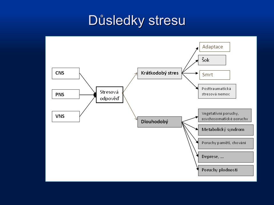 Adaptace Smrt Důsledky stresu