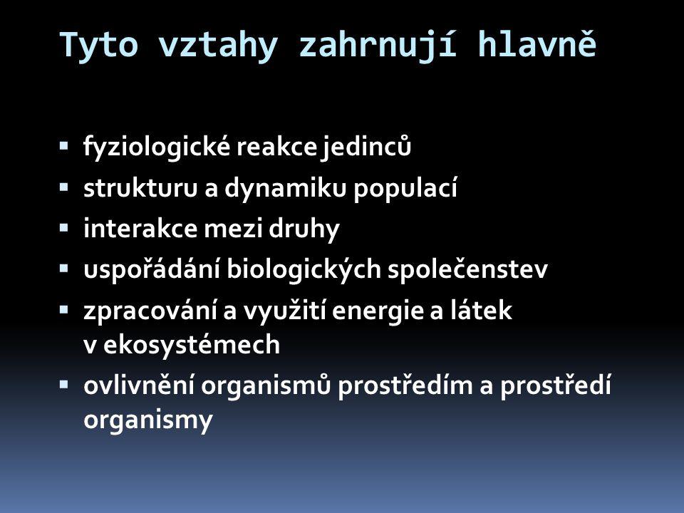 Ekologická valence  Rozmezí podmínek, za nichž je organismus schopen žít  Je vymezena hranicemi:  Minimum  Maximum  Optimum