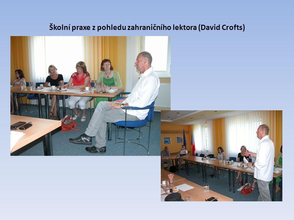 Ukázková hodina zaměřená na práci se slovní zásobou (PhDr. Eva Fabiánová)