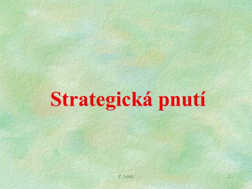 F.Ježek2 Strategická pnutí