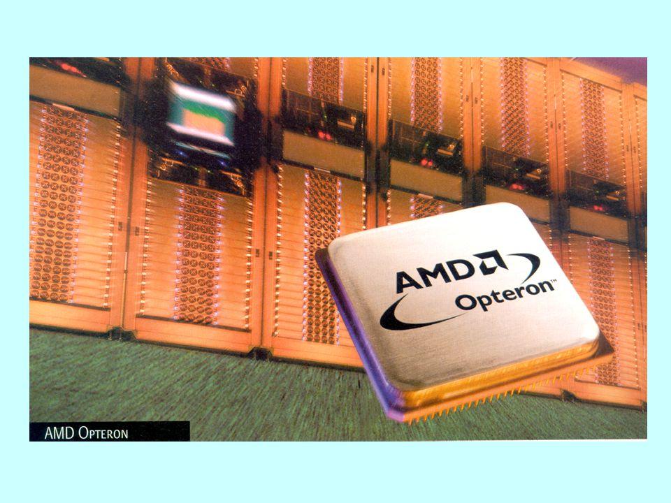 Technologie Hyper Threading - využití procesoru P4 na 35 %, pipelining 20 stupňů, první paralelizace u superskalárních procesorů (několik pipeline), u P4 3 + 2 procesní jednotky - v případě potřeby (serverové aplikace) pracují dva (DP) nebo více (MP) procesorů - vyšší cena víceprocesorových řešení - paralelní zpracování souběžně probíhajících nebo vzájemně nezávislých procesů - multi threading vyžaduje hardwarovou podporu (několik sad registrů, řídicí jednotka) - hyper threading využívá souběžné zpracování různých pipeline jednoho procesu, v jednom fyzickém procesoru je vidět několik logických - snaha o zachování plochy čipu (větší o 5 %), cenově výhodnější než DP, MP -lépe vychází pouze monolitické multiprocesorové čipy, dvě procesorová jádra se dělí o společnou vyrovnávací paměť (velká část plochy), zvětšení plochy o 30% http://cedar.intel.com/media/training/hyper_threading_intro/tutorial/