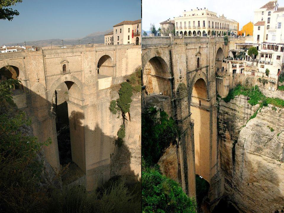 Nejznámější z mostů je kupodivu ten nejnovější – Puente Nuevo.