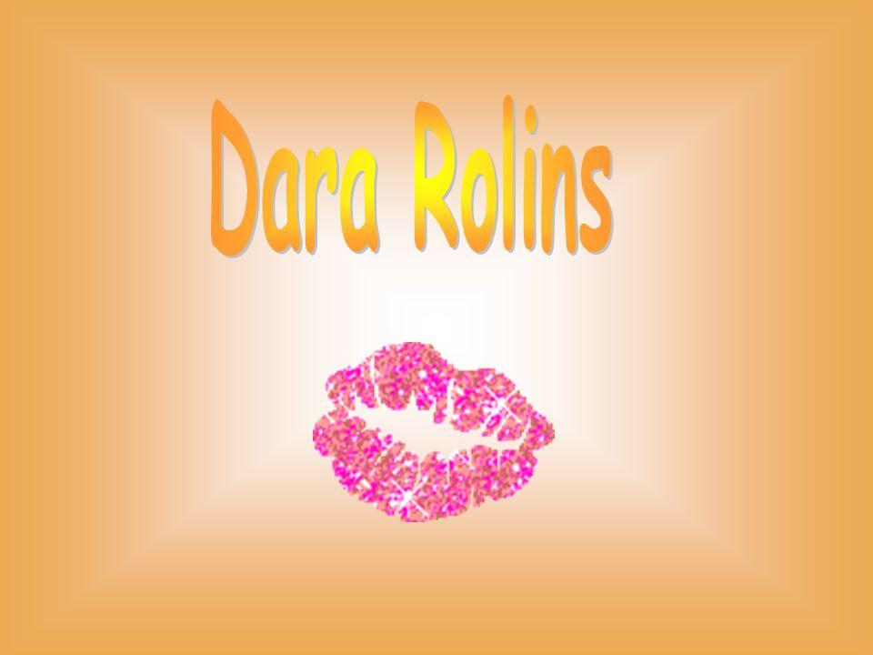 Dara Rolins je zpěvačka…