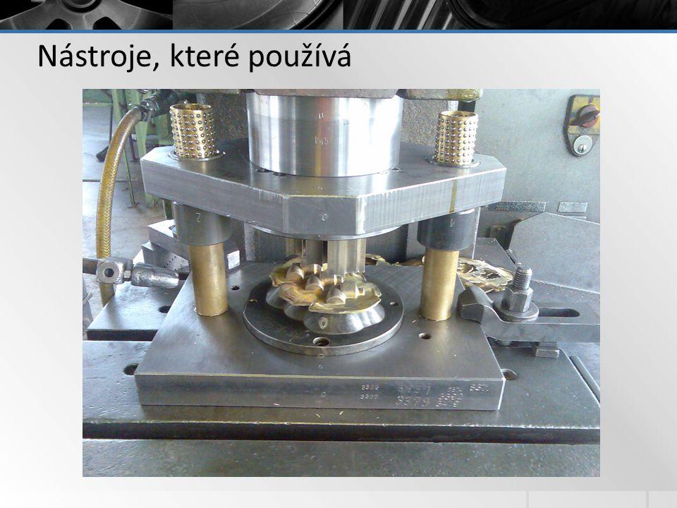 Nástroje, které používá