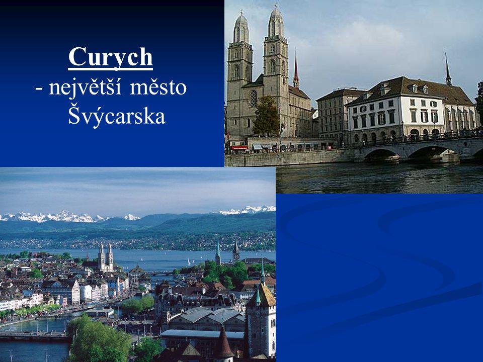 Curych - největší město Švýcarska