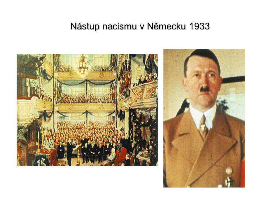 Nástup nacismu v Německu 1933