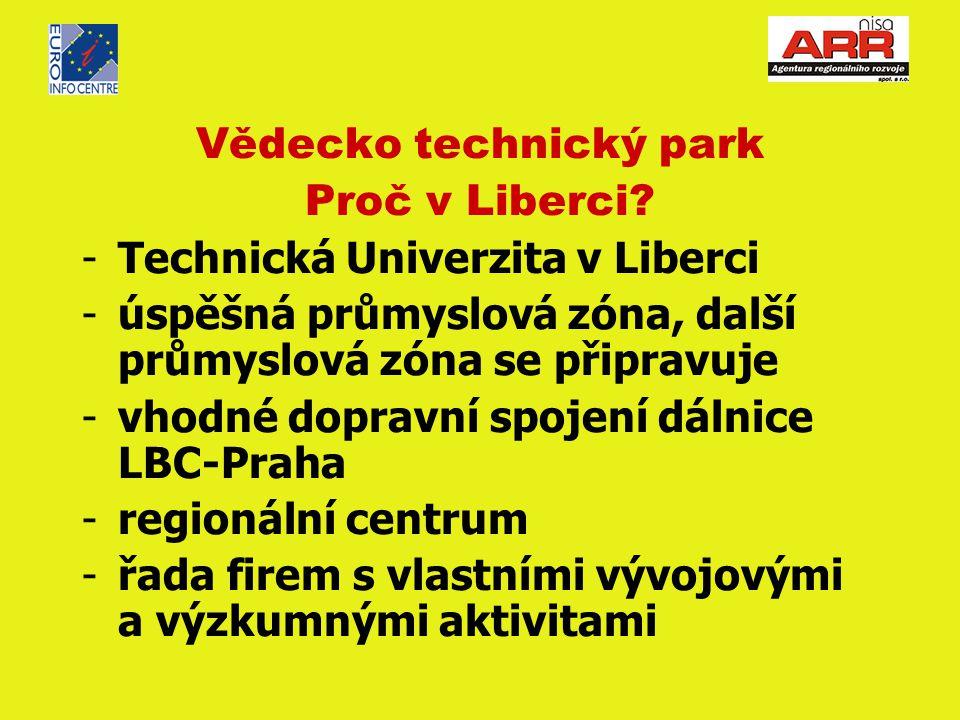 Vědecko technický park Proč v Liberci.