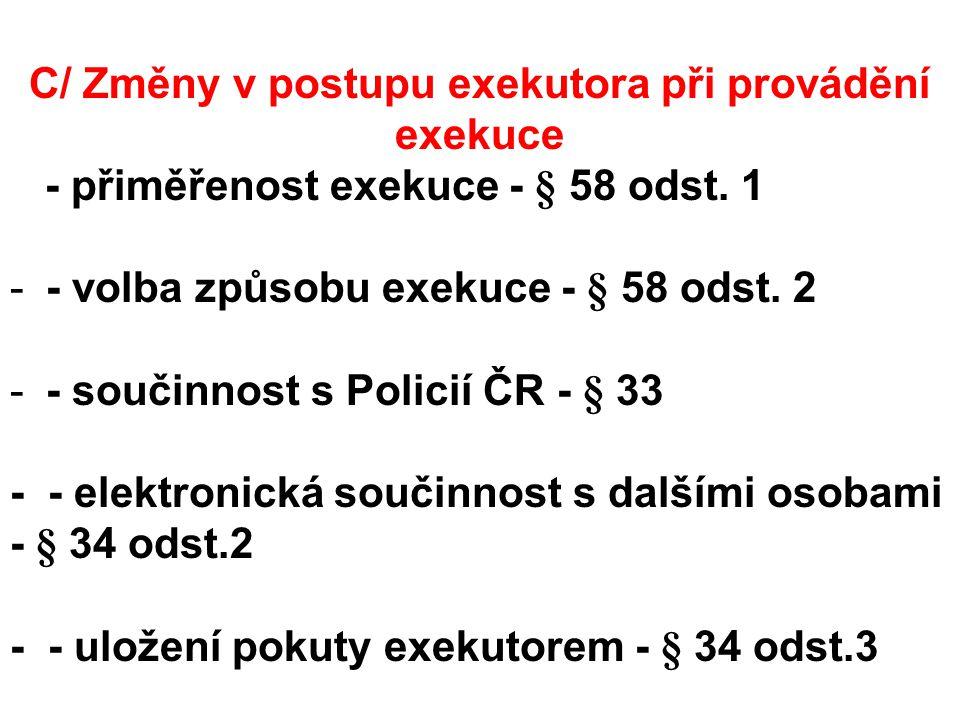 H/ Přechodná ustanovení novel - judikatura ÚS k přechodným ustanovením novely č.