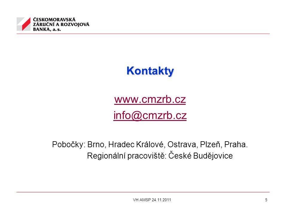 5 Kontakty www.cmzrb.cz info@cmzrb.cz Pobočky: Brno, Hradec Králové, Ostrava, Plzeň, Praha.