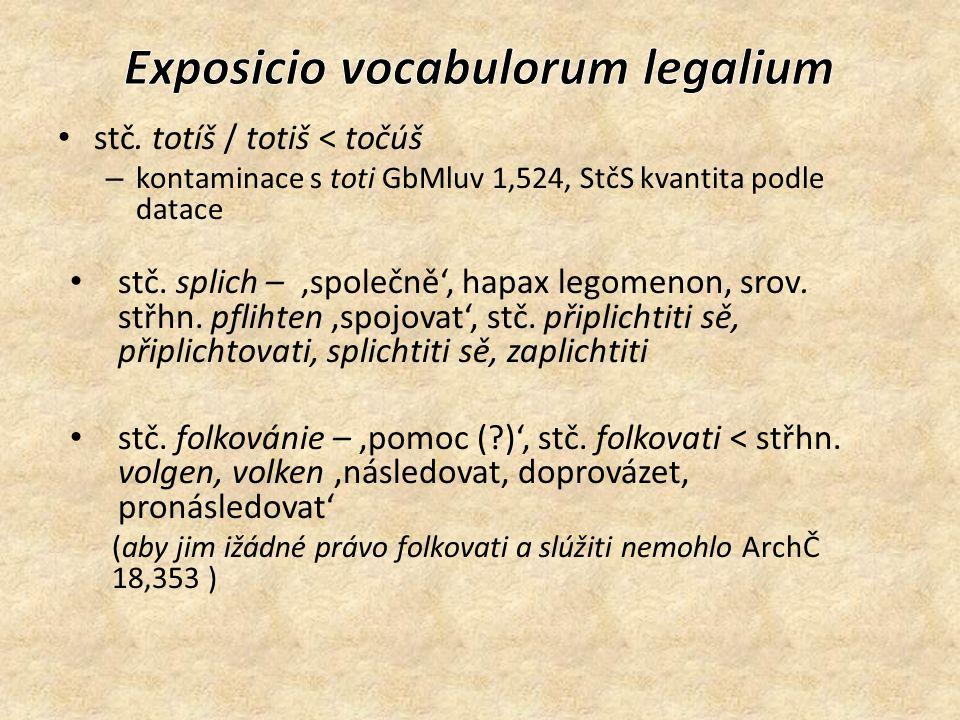 stč.hajsováni < stč. hajsovati Zpracování hesla hesovati do ESSČ: hesovati, -uju, -uje ipf.; ojed.