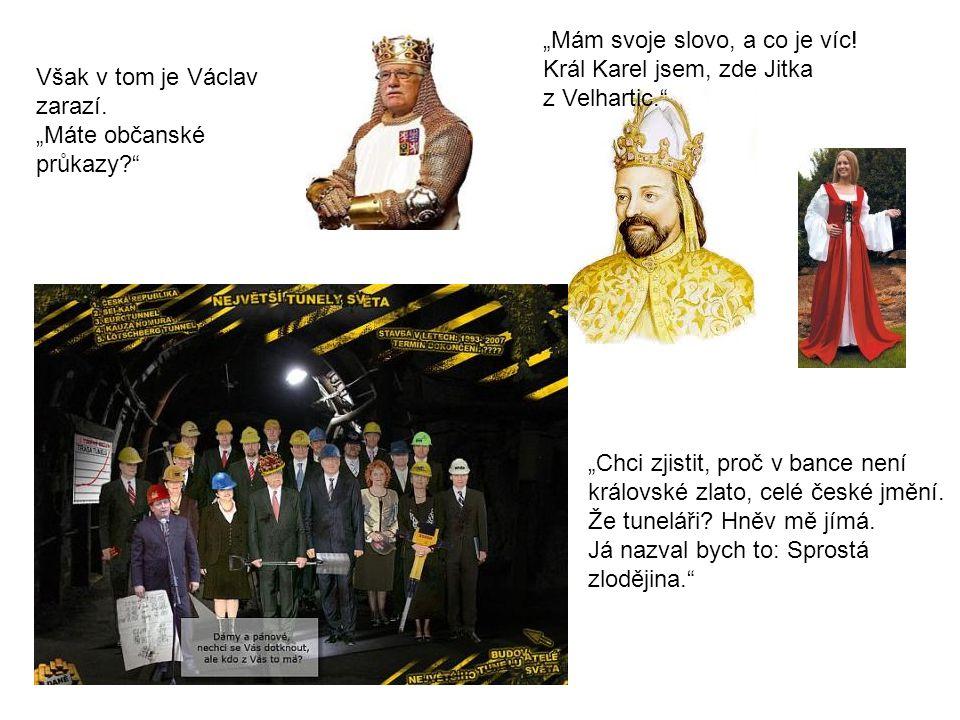 Osoby: 1. Karel IV., král český a císař římský 2.
