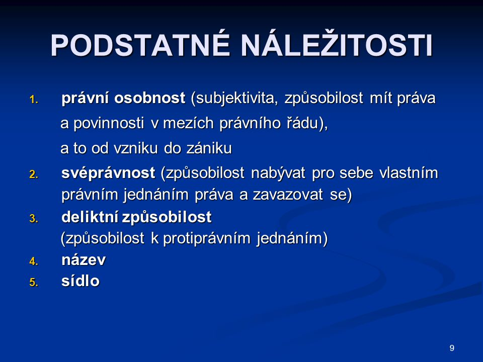20 ÚČEL ZALOŽENÍ 1.soukromě prospěšný 2. veřejně prospěšný, viz o.